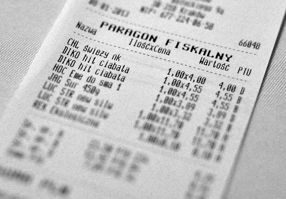 paragon fiskalny, faktura vat
